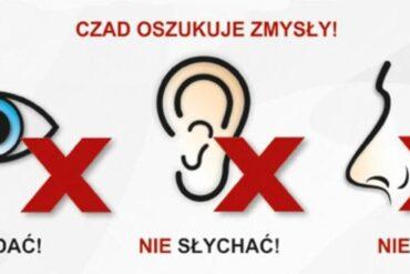 Plakat Ogólnopolskiej kampanii edukacyjno-informacyjnej PSP