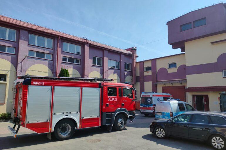 Samochody Straży Pożarnej, Policji oraz Pogotowia Ratunkowego